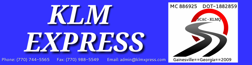 Mission Statement KLM EXPRESS LLC - Invoice klm